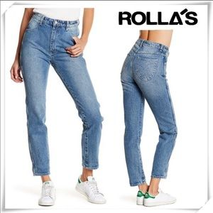 Rola's Dusters high waist tapered Jeans sz 28
